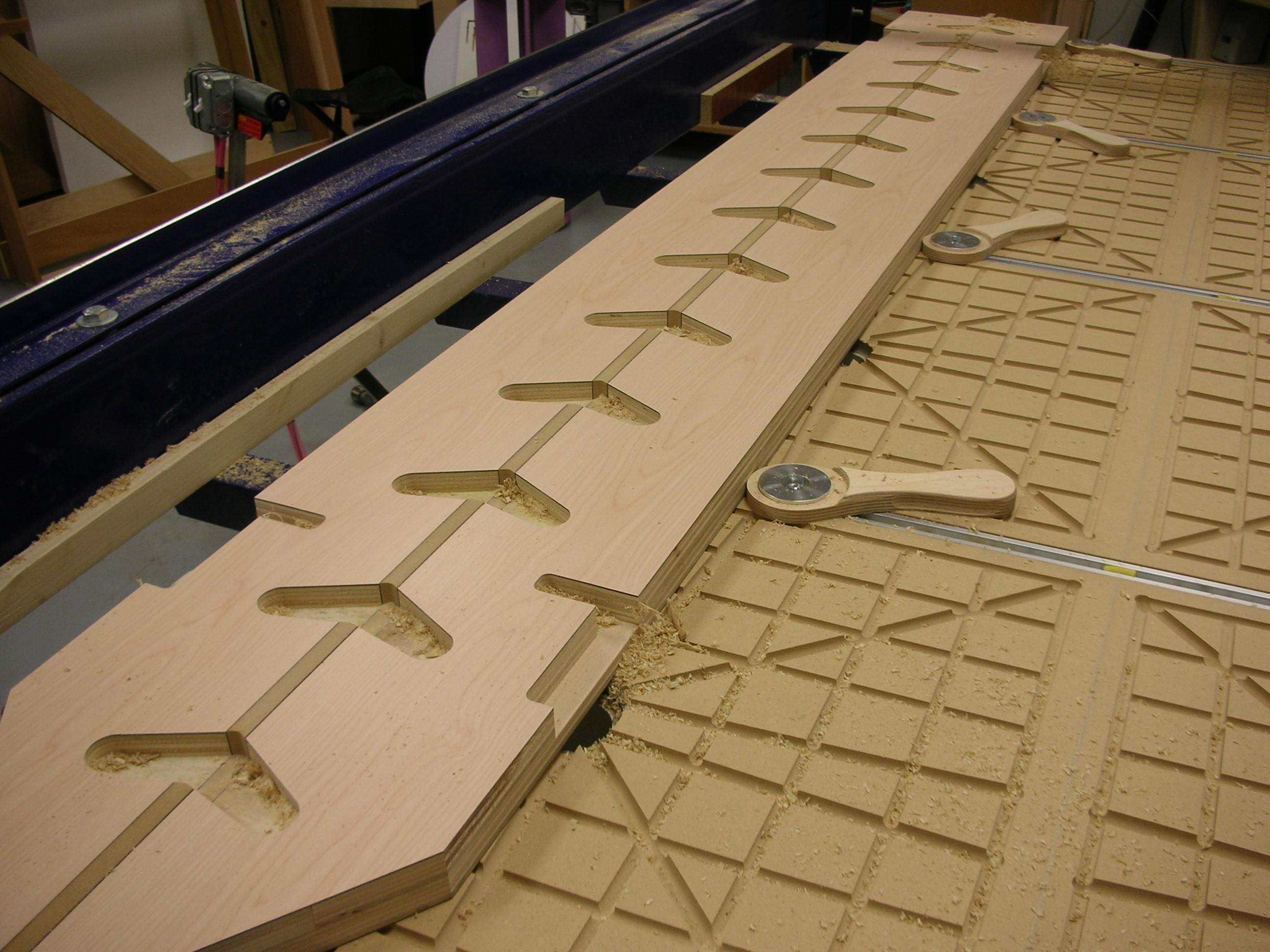 CNC Wood Machining – Beacon Custom Woodwork